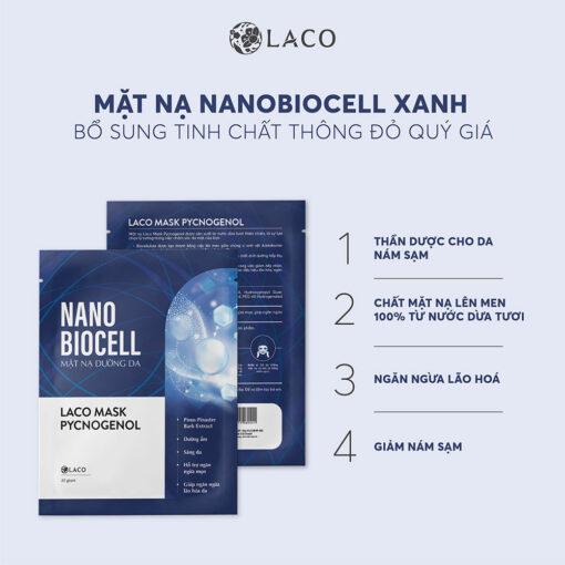 Mặt nạ nano biocell Laco